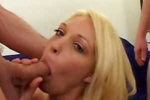 charlee pursue acquires a taste of numerous cocks