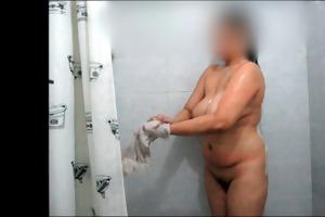celeste showers her large rack for daddy danny
