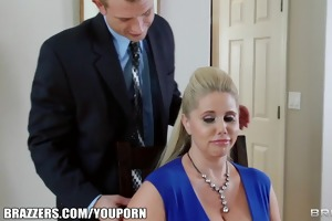 brazzers - 2 chaps and 2 milfs fuck