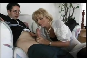 sexy milf seduces younger chap