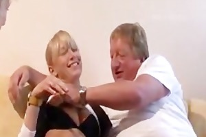 german threesome - old and young.flv