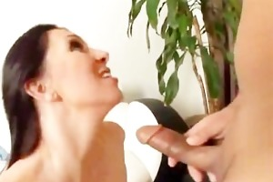 mother i with great natural boobs fucked by a