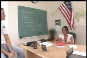 large titted teacher acquires her tight vagina