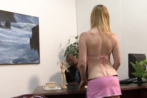whiteghetto golden-haired milf wishes it is