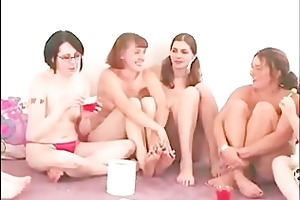 non-professional group party lesbian games