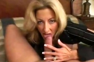 lexi carrington is a mature blonde with large