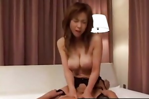 cute japanese daughter anal violated hard