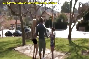 mom and daughter engulf bbc