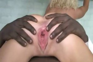 black shlong and a tiny babe 1