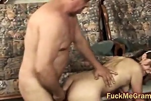old knob fucks youthful pussy