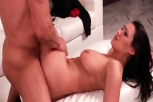 awesome sex scene with college babe and sugar dad