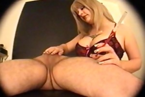 blond smokin cook jerking