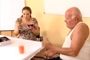 preggo - grandpa mireck and pregnant doxy