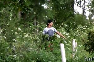 twink fox receives searched by a patrolman