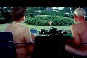 burt lancasters swim and strip -hot daddy!