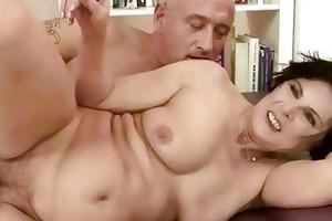 granny and granddad enjoying nasty sex
