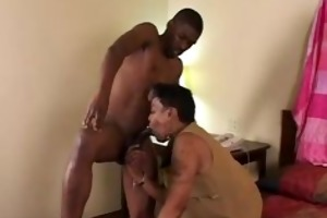 black granny receives some juvenile cock
