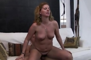 cougar bonks after she is catches her stepson