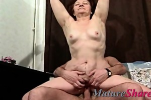 unshaved old chubby granny sonja