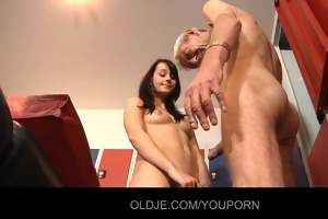 young innocent girl have sex with old cock in