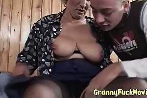 granny hungry for fresh schlongs