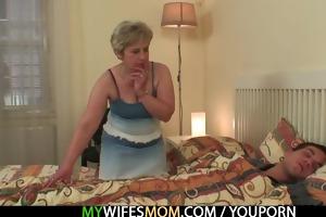 she is bonks her son in law as he sleeps