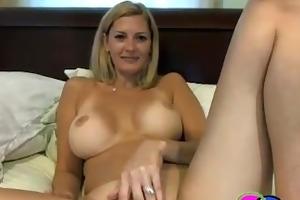 nice titties milf masturbating