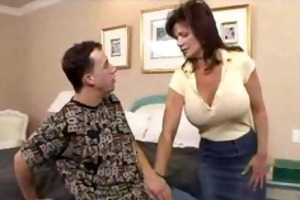 deauxma acquires her ass fucked by a young man