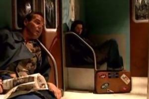 runaway teen in subway