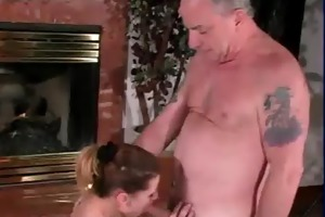sybian riding slut sucks uncle jesses old jock