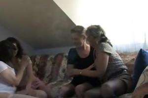 four slutty older wifes in sexy part2