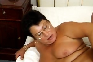 german granny in glasses fucked fucked in the