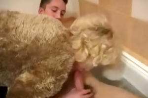 russian mother and youthful guy russian cumshots