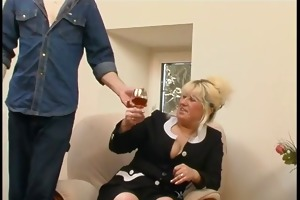 blond mature fucked by juvenile weenie