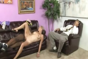 youthful daughter with fine booty fucked by a