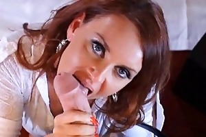 redhead milf teaching her fresh young paramour