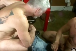 muscle daddies hard intense cumshot