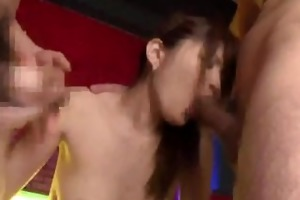 japanese angels attacked lubricous mother in