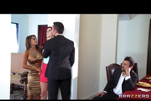 two young married couples switch partners &