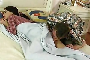 youthful girl drilled by older guy
