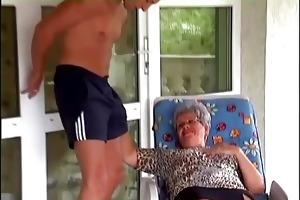 granny eve sucking hard juvenile ramrod