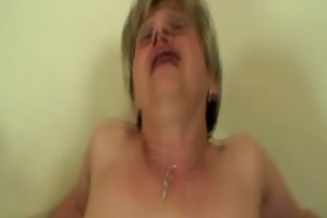 granny engulfing cock and balls