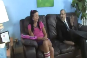 young daughter with worthy ass screwed by a black