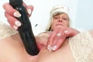 ribald nurse milf nada fucks herself with big sex