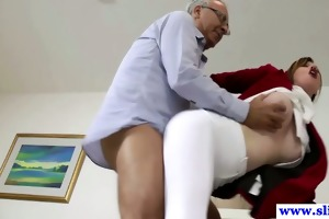 british non-professional fucked by old dude knob