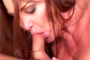 sexy granny anastasia sands seduces younger chap