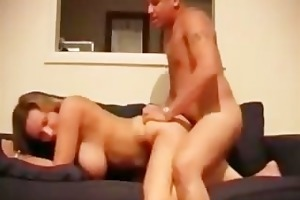 big mounds milf sucks wang then gets fucked hard