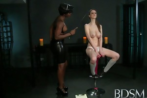 bdsm xxx youthful cutie gets a shock from hot