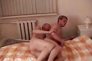 ribald old guy fucking cute lad in various
