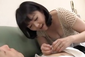 impure mommy enjoys younger dick
